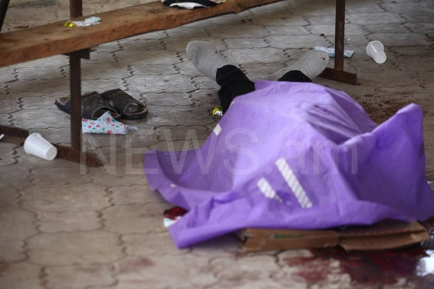 У Вірменії розстріляли похоронну церемонію, четверо загиблих