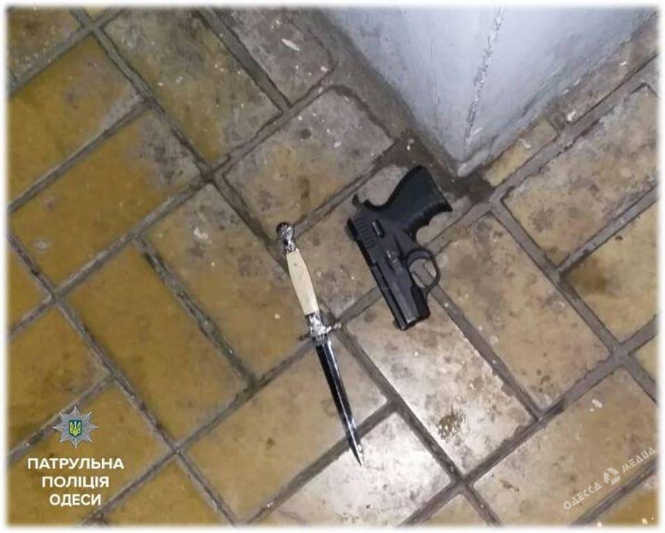 ВОдессе виновник ДТП открыл стрельбу, есть раненые