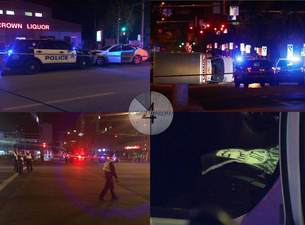 Мужчина въехал наавтомобиле впешеходов иранил полицейского— Теракт вКанаде