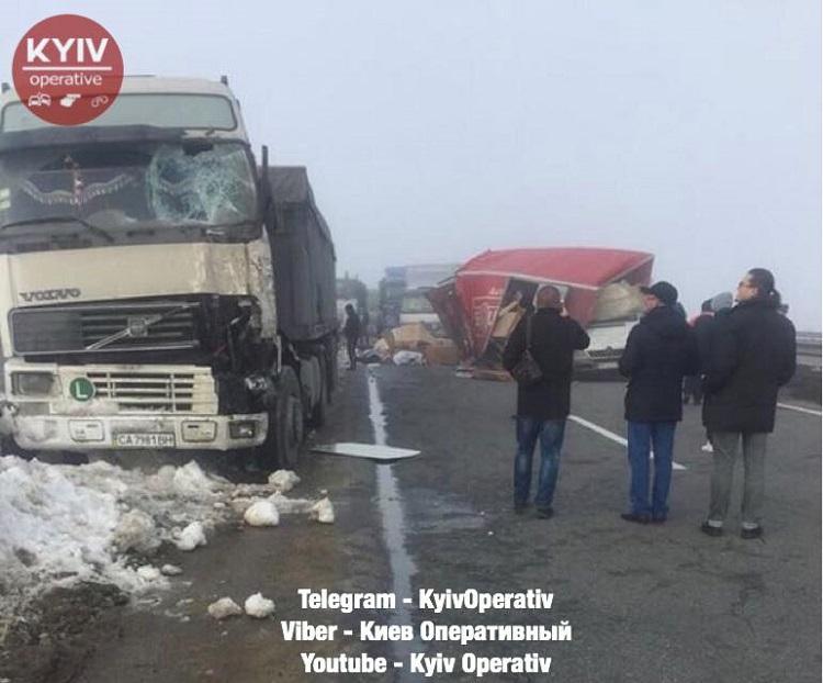 Натрассе Киев-Одесса случилось смертельное ДТП— шофёр менял колесо