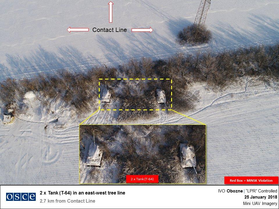ОБСЕ: Украина вДонбассе нарушает договор оботводе тяжелого вооружения