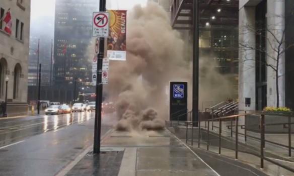 ВТоронто произошел взрыв в экономическом центре города