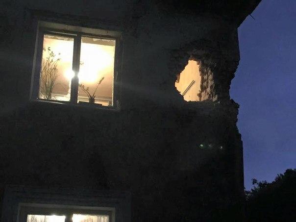 Снаряд залетел вквартиру— Донецк подвергся обстрелу