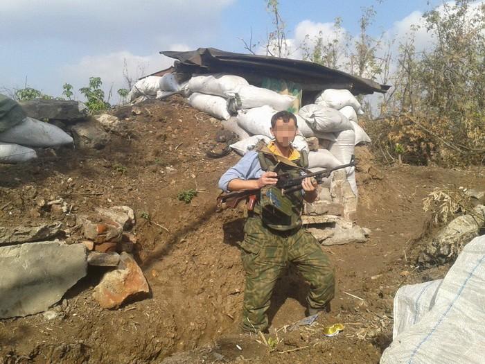 Взоне АТО словили боевика «ДНР» покличке «Седьмой»
