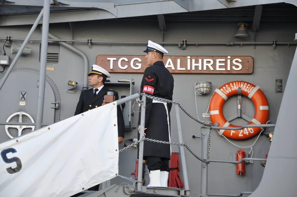 В Украину прибыли военные корабли Турции