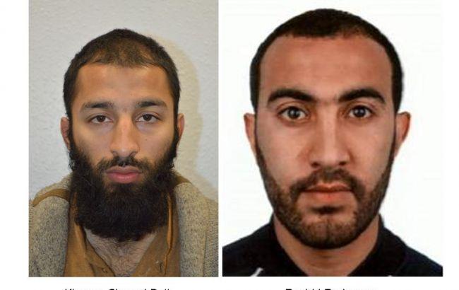 Теракт уЛондоні: поліція назвала імена двох нападників