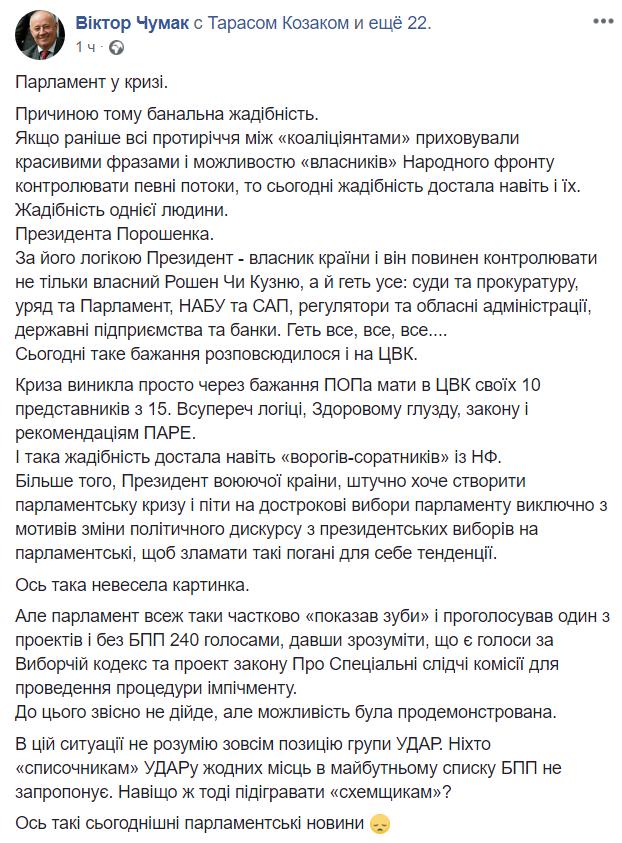 Рада функционирует, - Бурбак о протесте БПП в парламенте - Цензор.НЕТ 1357