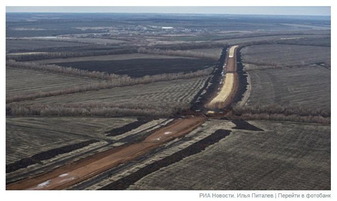 ВРФ похвастались скоростью возведения железной дороги вобход государства Украины