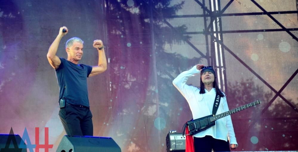 Газманов завітав доокупованого Донецьку зконцертом