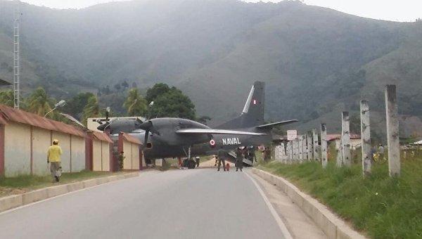Літак врізався уполіцейську дільницю вПеру