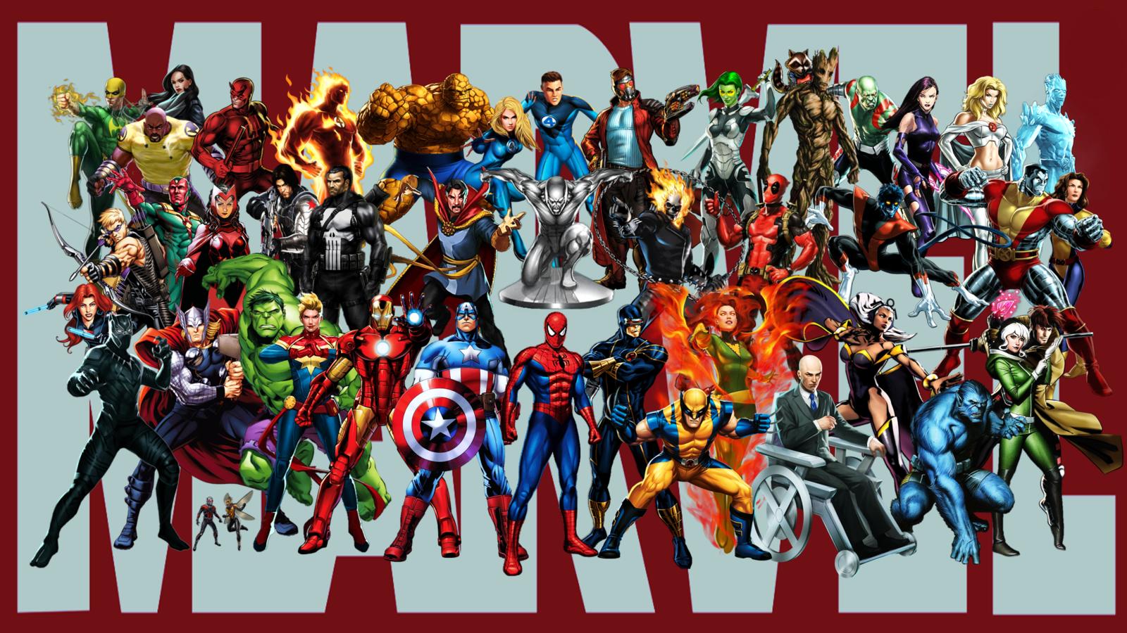 Самые сильные герои марвел список с картинками