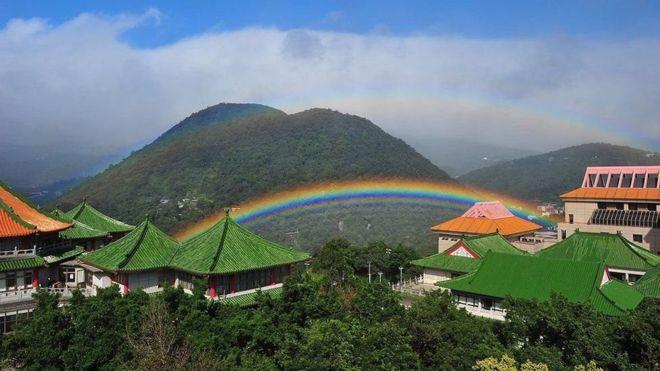 Рідкісну веселку спостерігали наТайвані: дивовижні фото