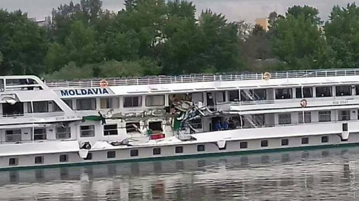 Два украинских судна столкнулись вводах Венгрии