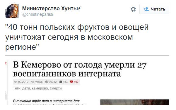 Что думают россияне об уничтожении санкционных
