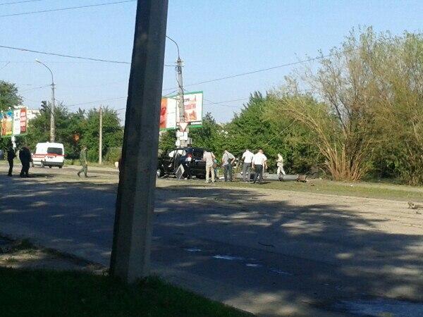 в Луганську підірвали машину Плотницького