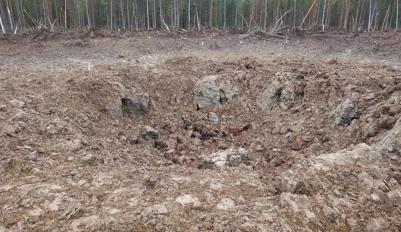 ВАрхангельской области упала ракета, запущенная скосмодрома «Плесецк»