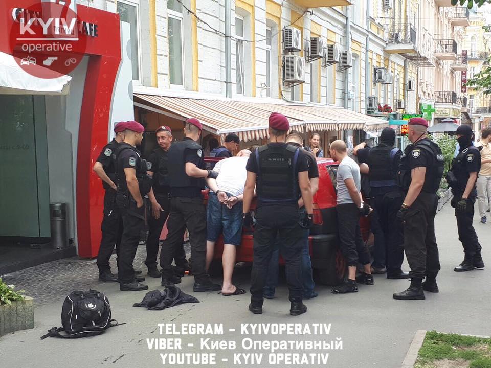 Біля посольства Німеччини уКиєві затримали групу провокаторів