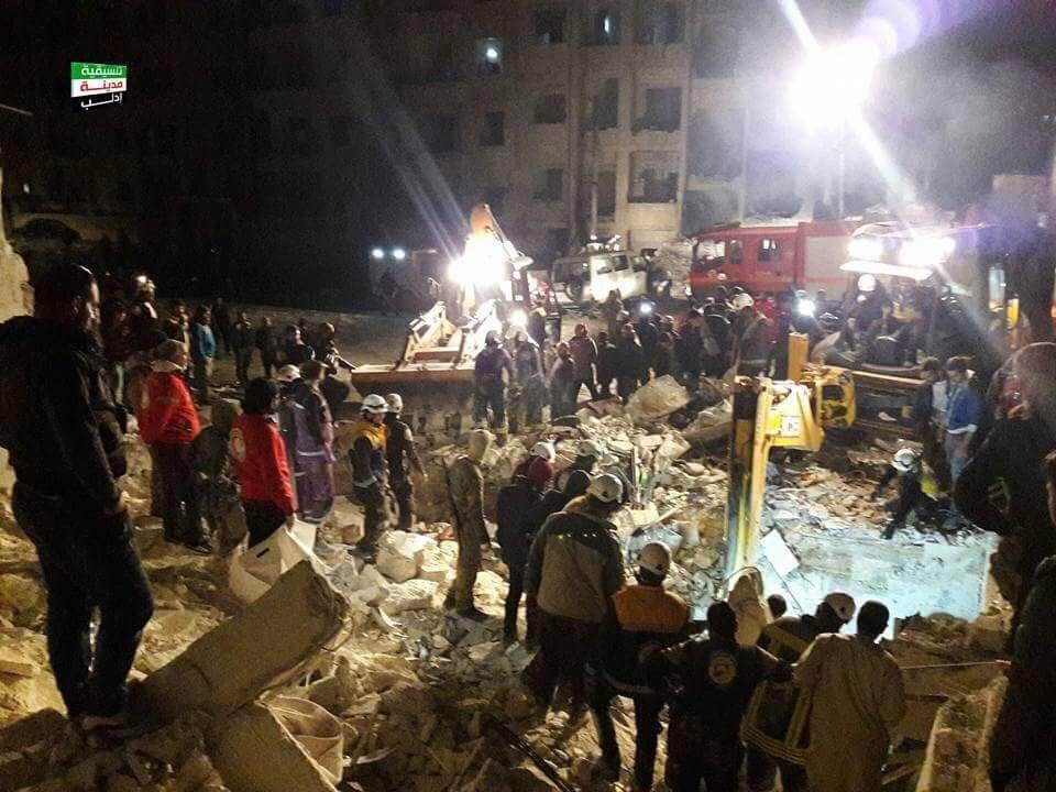 Усирійському місті Ідлібі внаслідок вибуху загинули щонайменше 23 людей