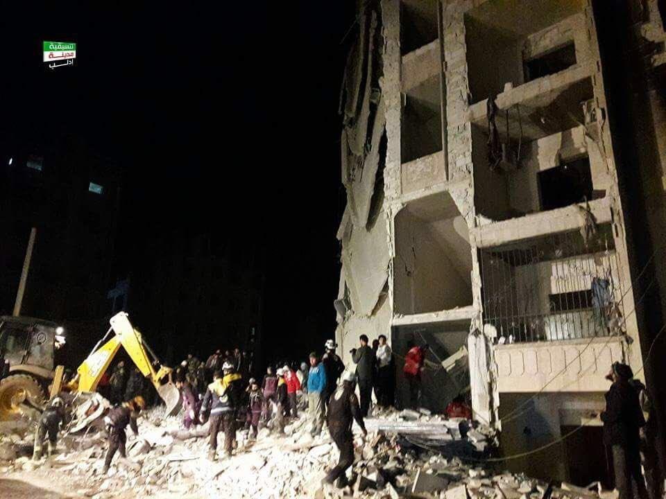 В Ідлібі пролунали кілька вибухів, загинули та поранені десятки людей