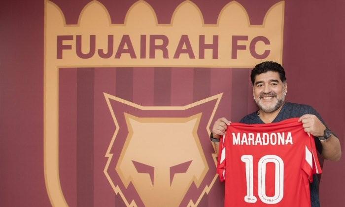 Марадона возглавил клуб из 2-го дивизиона ОАЭ «Эль-Фуджайра»
