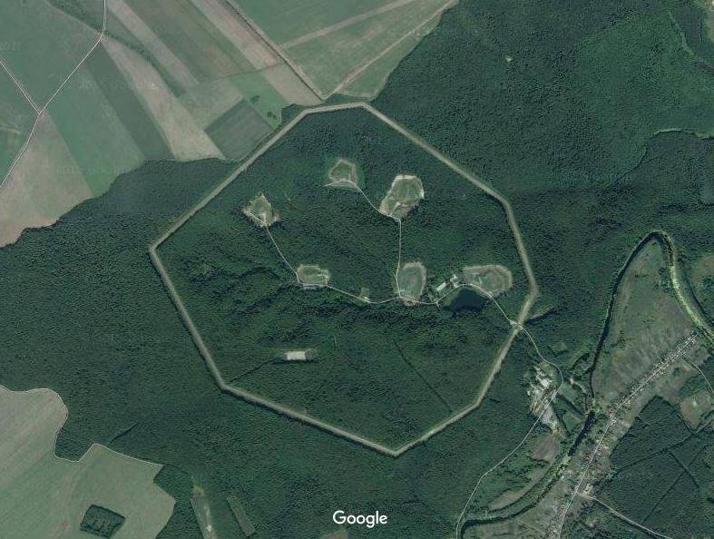 Секретная ядерная база Российской Федерации найдена около украинской границы