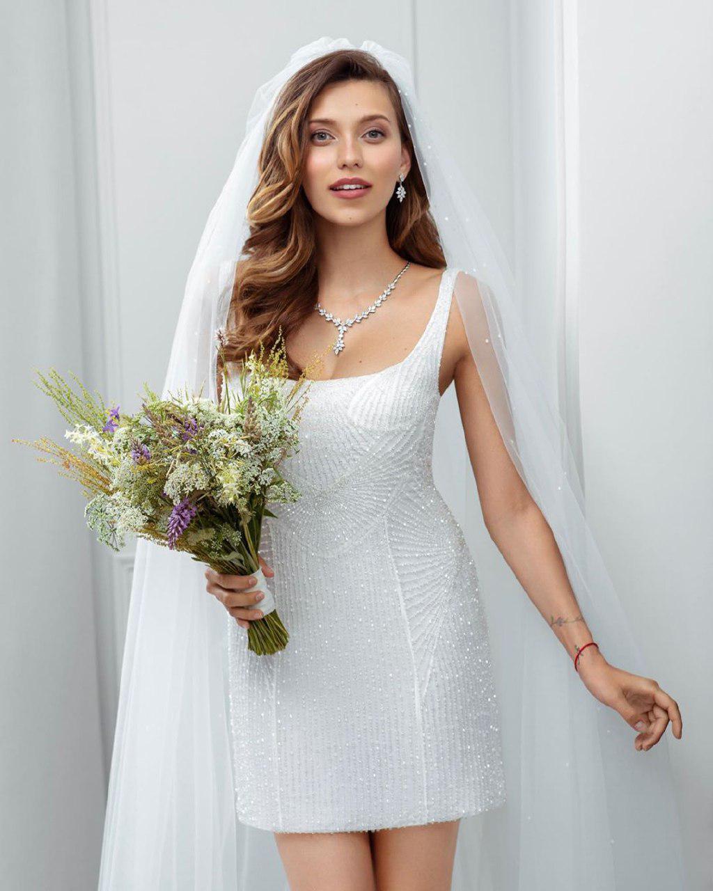 Тодоренко вмини-платье ифате