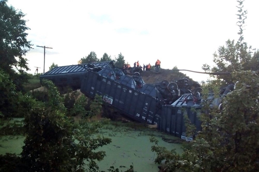 СК РФ начал проверку пофакту обрушения железнодорожного моста
