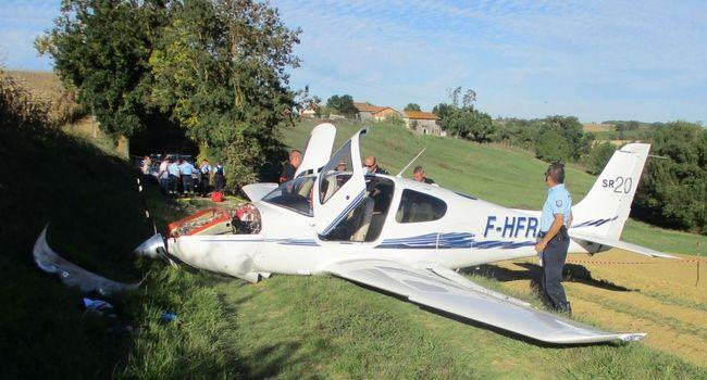 УФранції врезультаті падіння невеликого літака загинула людина