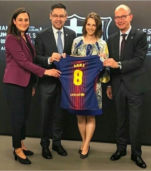 Испанский гранд сделал уникальный подарок украинской спортсменке