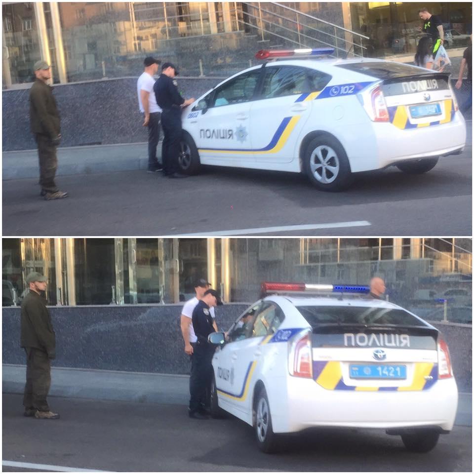 Илью Киву оштрафовали занеправильную парковку
