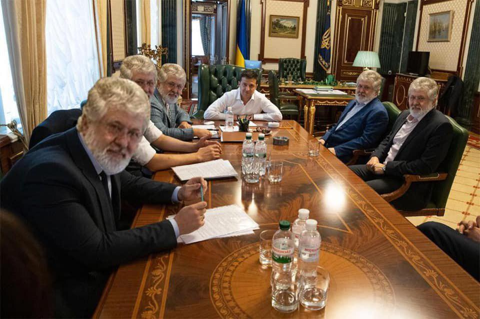 Зеленский обсудил с Коломойским коммунальные тарифы - Цензор.НЕТ 3533