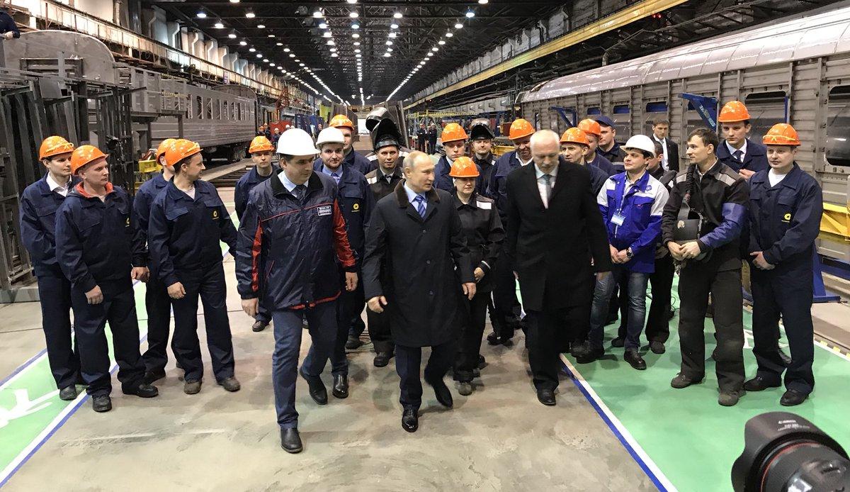 Путин согласился рассмотреть кандидатуру руководителя  ТВЗ наместо доверенного лица врегионе