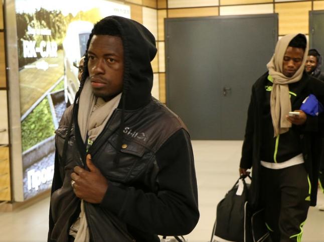 ВКрым прибыла футбольная команда изКамеруна