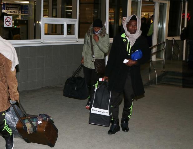 Футбольная команда изКамеруна уже вКрыму