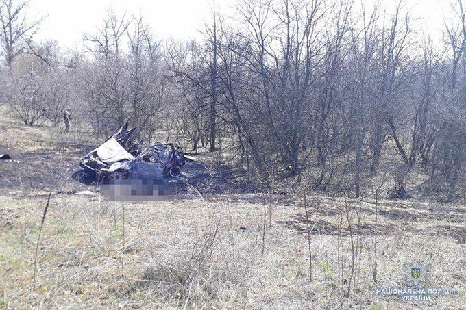 НаЛуганщині на лінії розмежування четверо місцевих мешканців підірвалися вавтомобілі