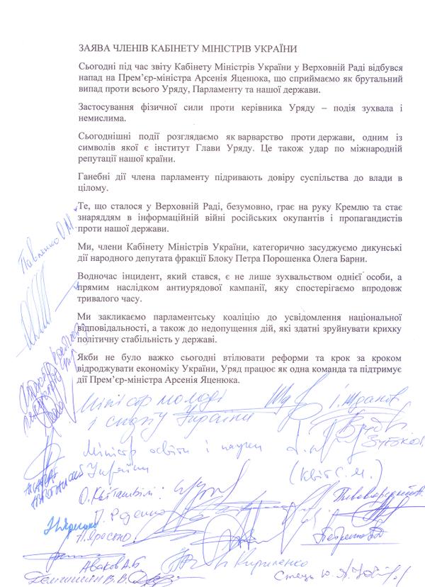 Кабмин Украины сделал заявление: Барна сыграл на руку Путину