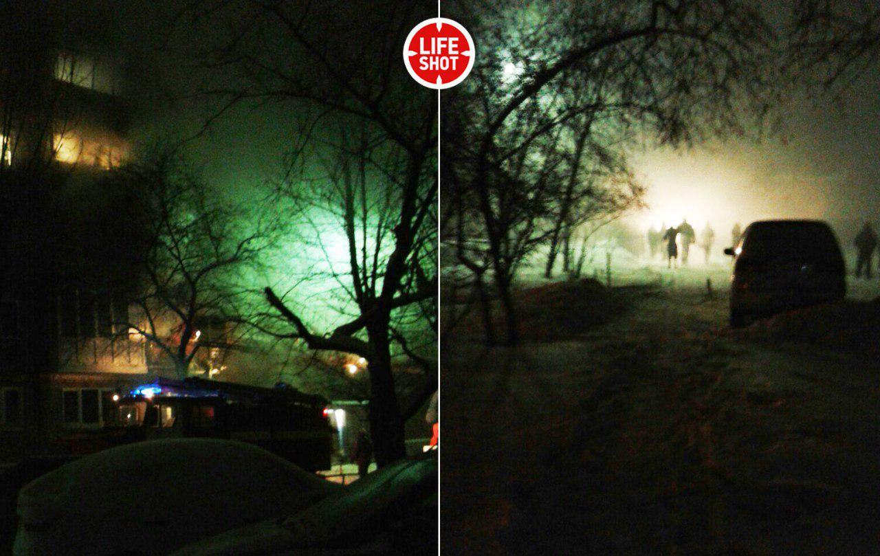 ВОмську вибухнув будинок: всі подробиці, фото і відео