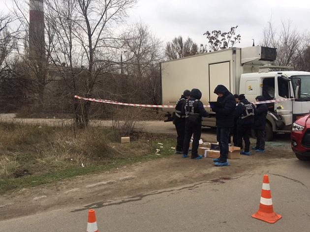 УЗапоріжжі стріляли в підприємця зХмельниччини— поліція готується доштурму