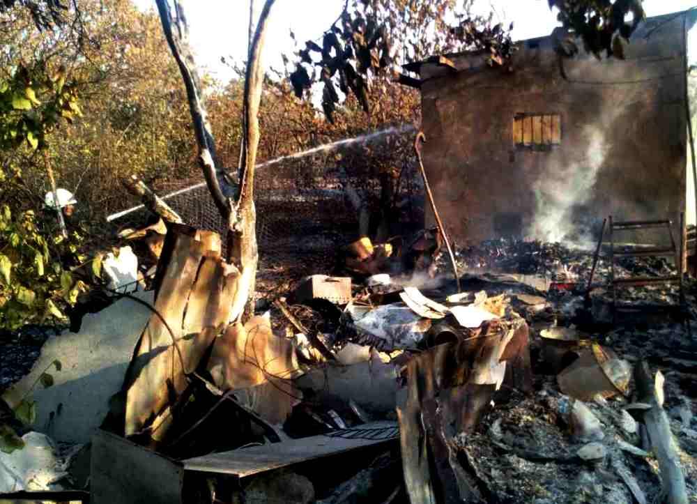 ВОдеській області згоріло 8 дач