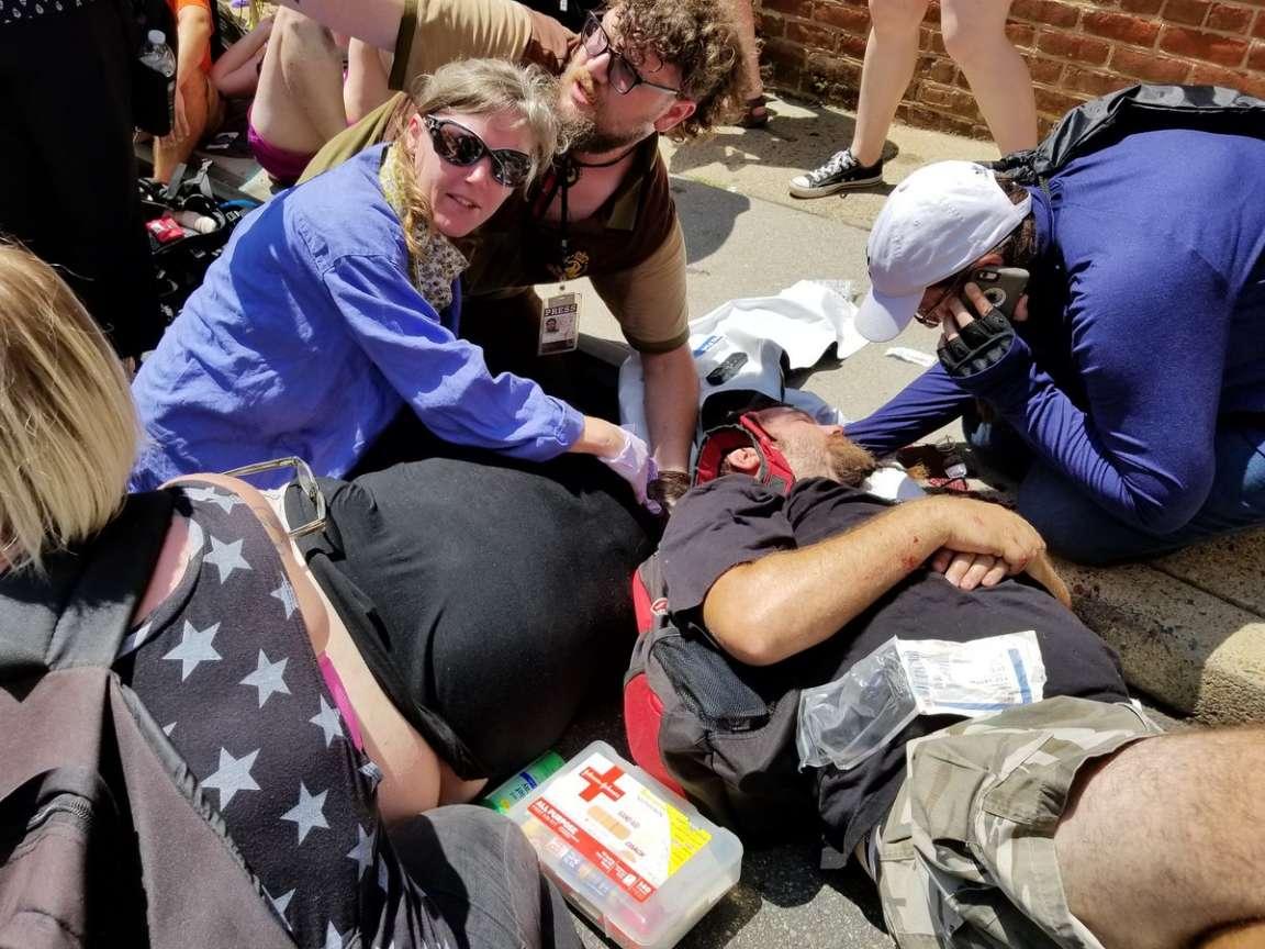 ВВирджинии встолкновениях ультраправых умер  один человек