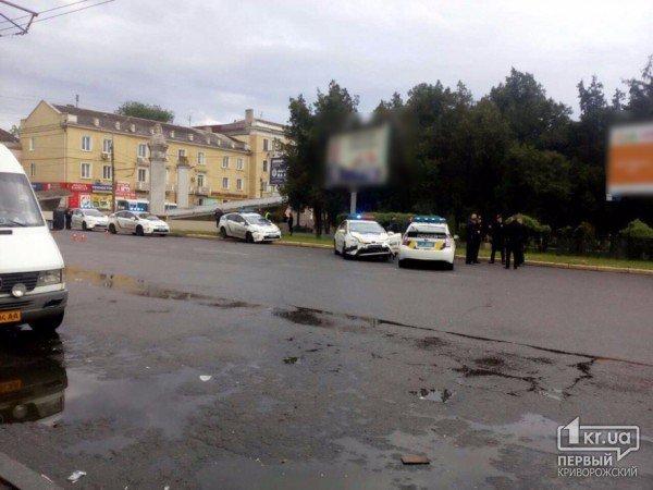 Три машини патрульної поліції потрапили вДТП вКривому Розі