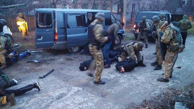 «ДНРівці» уформі поліції розбійничали вЗапорізькій області