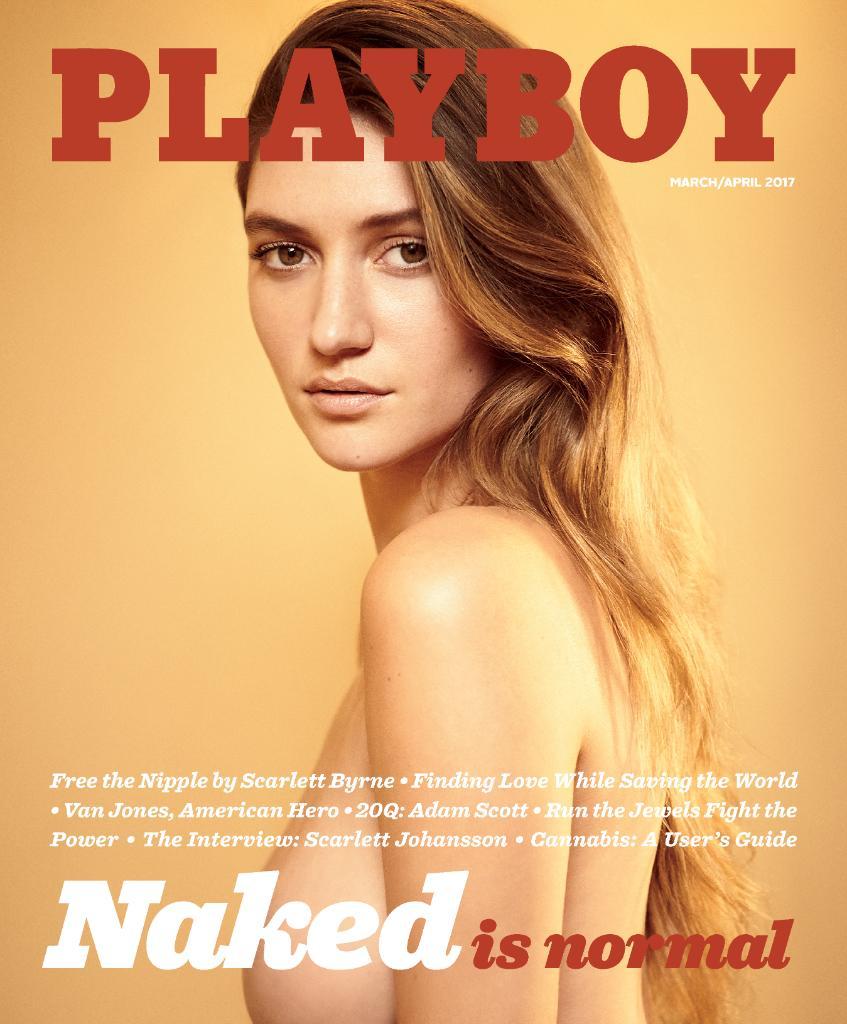 Голые девушки возвратятся наобложку Playboy