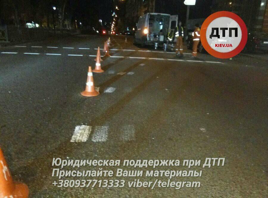 Нетрезвый шофёр устроил наглое ДТП спогоней вцентре украинской столицы