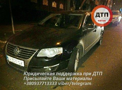 Нетрезвый шофёр устроил ДТП спогоней вКиеве