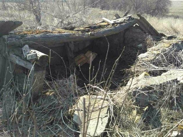 ВЗапорожской области обнаружили тайник соружием ивзрывчаткой