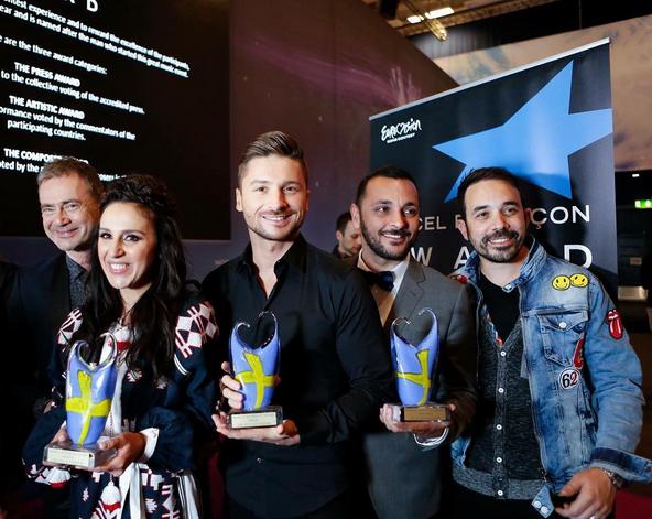 'Евровидение 2015', финал, результаты: победитель - Джамала, Сергей Лазарев - третий