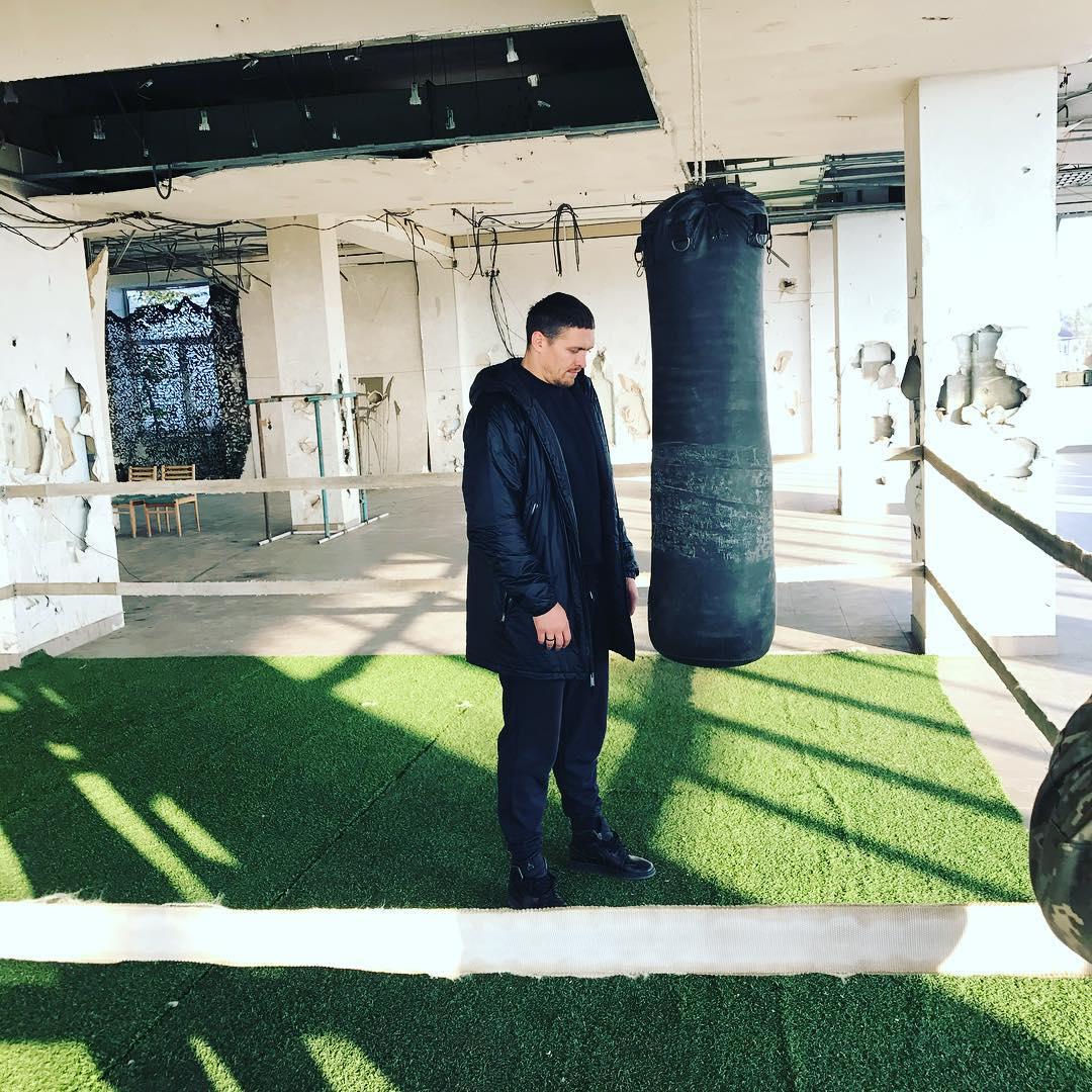 Усик вийшов нанайнебезпечніший ринг України