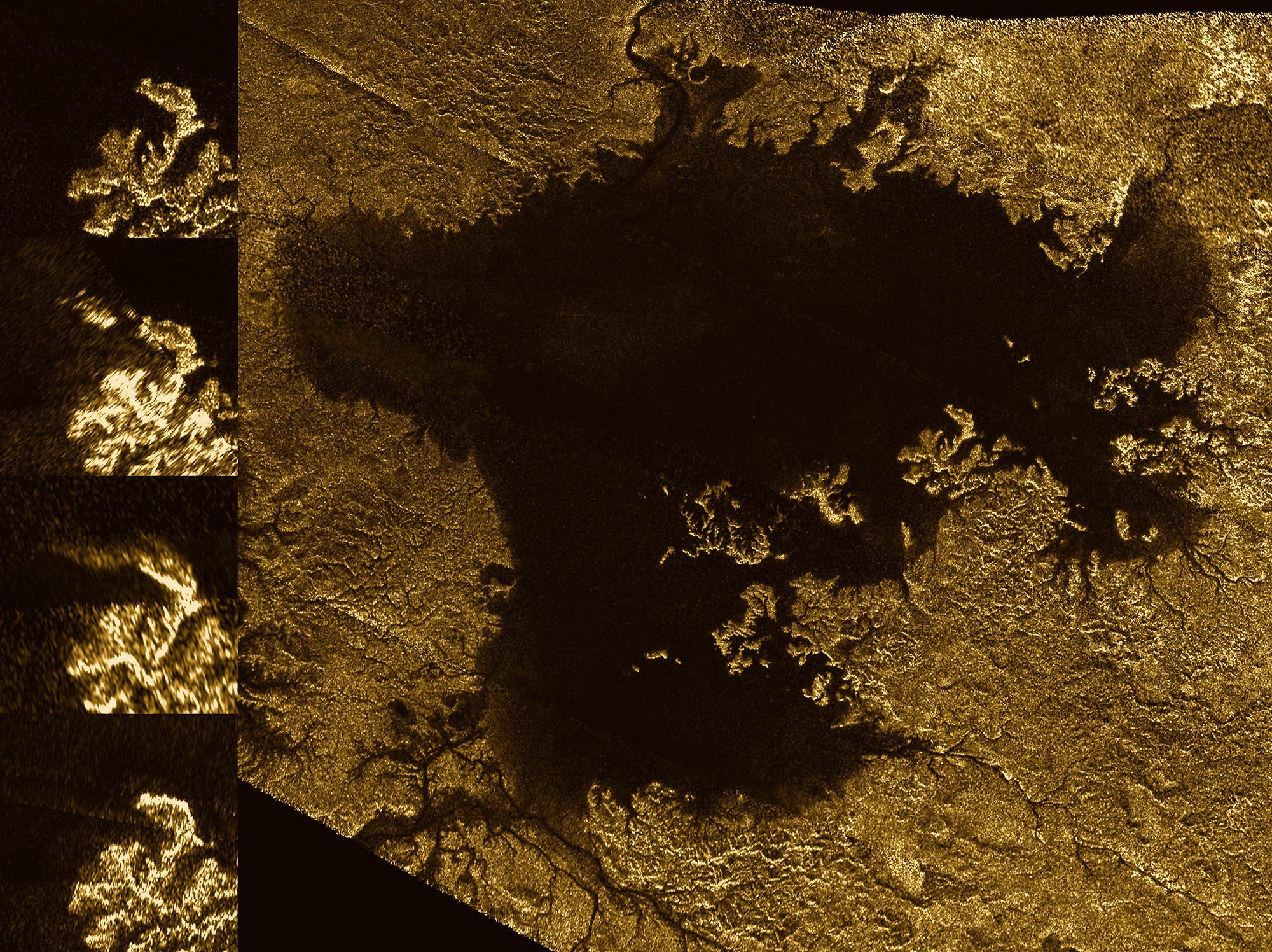 Обнаруженный спутник Сатурна похож напельмень