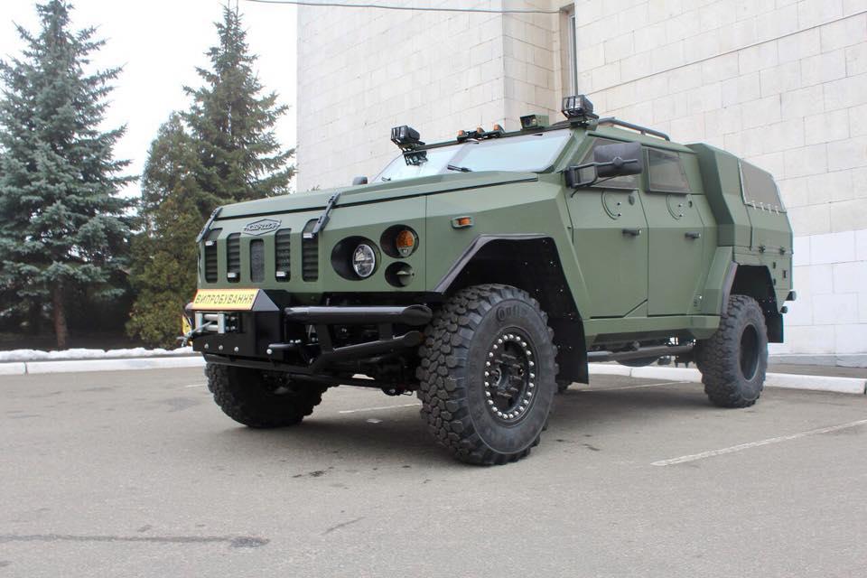 ВУкраинском государстве представили новый бронеавтомобиль